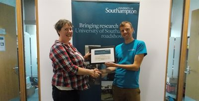 Collaboration with University of Southampton leads to award win