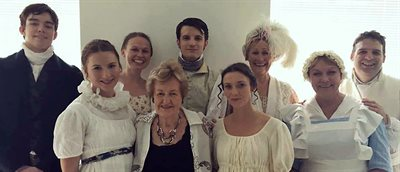 "Meeting Miss Austen: Lecturer gives ""show-stopping"" performance"