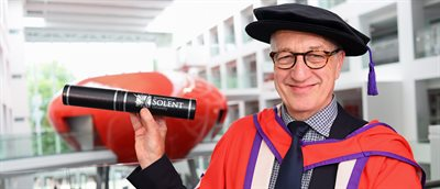 Harry Potter film editor awarded honorary degree
