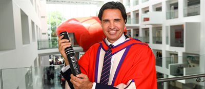 Entrepreneur and 'Apprentice' winner awarded honorary degree