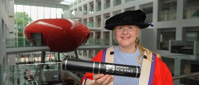 Lead for Diversity and Women's Sport at the BBC awarded honorary degree