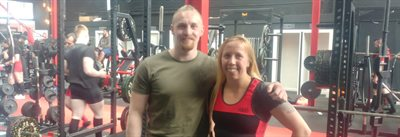 Solent student powers lecturer into winning powerlifting competition
