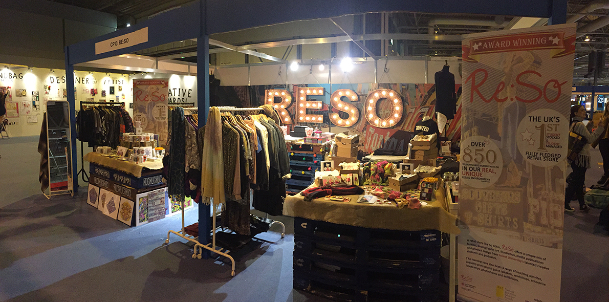 Re:So's display at Clothes Show Live
