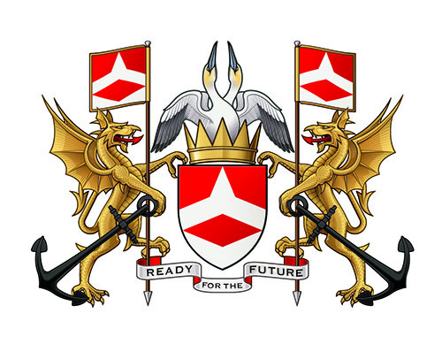 The Solent University Coat of Arms