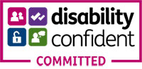 Disability Confident 'committed' logo