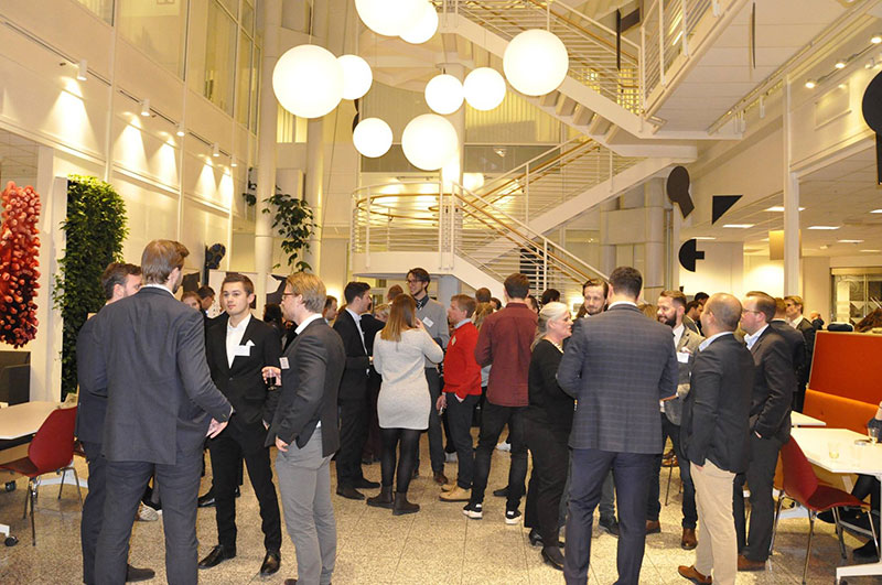 Guests at our alumni event in Norway