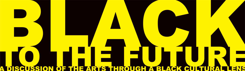 Black to the Future logo
