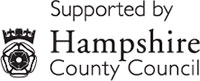 Supported by Hampshire County Council logo