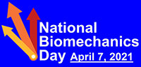 National Biomechanics Day logo