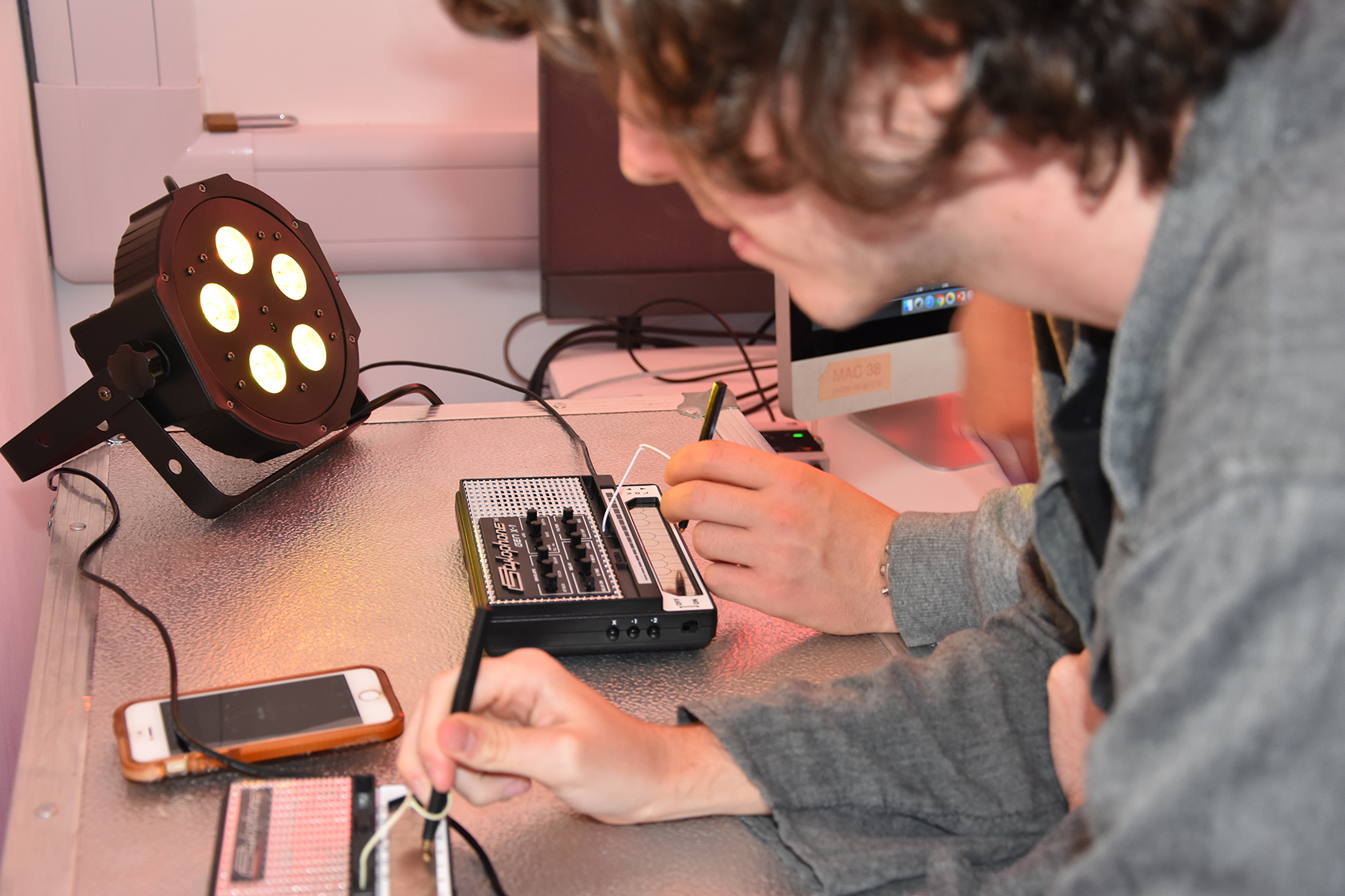Digital Music students at Solent University