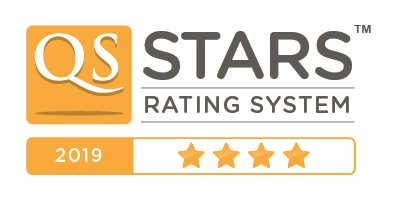 QS Stars rating 2019 4 stars